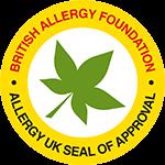 Das Attest der Allergy UK für den Luftreiniger von Sharp