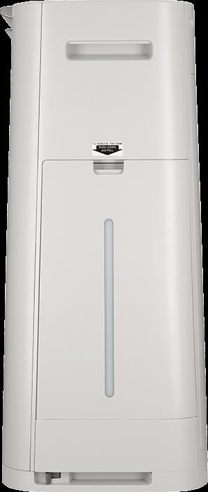 Sharp UA-HG50E-L – Ansicht von der Seite des Wasserbehälters